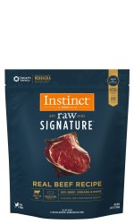 IN STORE AND CURB-SIDE PICK UP ONLY - Instinct Signature - Beef Medallions - Raw Dog Food - 3 lb