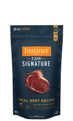 IN STORE AND CURB-SIDE PICK UP ONLY - Instinct Signature - Beef Patties - Raw Dog Food - 6 lb