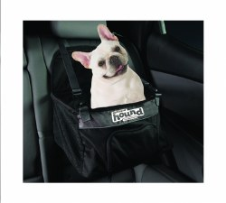 Outward Hound - PupBoost Booster Seat - Black - Small - Up to 10 lbs