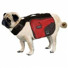 Outward Hound - Excursion Dog Backpack - Red Clay and Java - Small