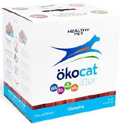 Okocat - Natural Wood Clumping Litter - 12lb