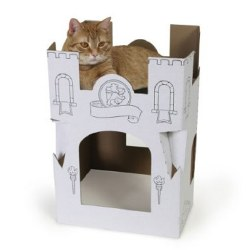 Omega Paw - Cat Playhouse - Castle