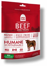 Open Farm - Dehydrated Beef - Dog Treats - 4.5 oz