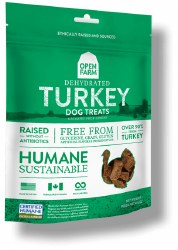 Open Farm - Dehydrated Turkey - Dog Treats - 4.5 oz