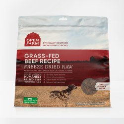 Open Farm - Grass-Fed Beef - Freeze Dried Dog Food - 13.5 oz