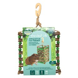 Oxbow - Enriched Life - Apple Stick Hay Feeder