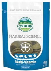 Oxbow Natural Science - Multi-Vitamin - 60 ct