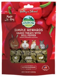 Oxbow Simple Rewards - Baked Treats with Bell Pepper - 2 oz