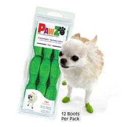Pawz Dog Boots - Apple Green - Tiny