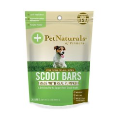 Pet Naturals - Scoot Bars for Dogs - Chewable Bars - 30 ct