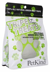 PetKind - All Natural Green Beef Tripe - Dog Treats - 5 oz