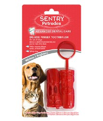Sentry Petrodex - Deluxe Finger Toothbrush - 2 pack