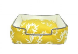 PLAY - Bamboo Lounge Bed - Mustard Yellow - Extra Large