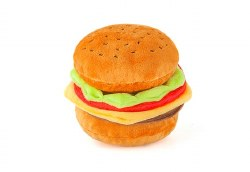 PLAY - American Classics Dog Toy - Barky Burger