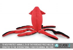 PLAY - Under the Sea Dog Toy - Giant Squid