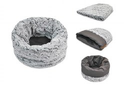 PLAY - Snuggle Bed - Husky Grey - Large