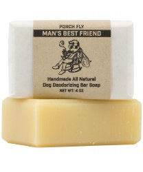 Porch Fly Man's Best Friend Deodorizing Shampoo Bar