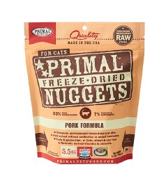 Primal - Pork Formula - Freeze Dried Cat Food - 5.5 oz