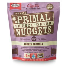 Primal - Turkey Formula - Freeze Dried Cat Food - 14 oz