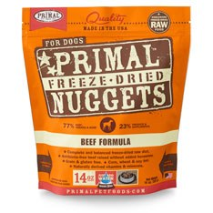 Primal - Beef Formula - Freeze Dried Dog Food - 14 oz