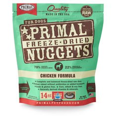 Primal - Chicken Formula - Freeze Dried Dog Food - 14 oz