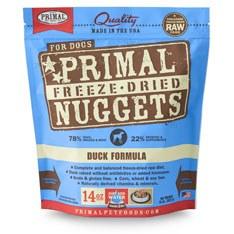 Primal - Duck Formula - Freeze Dried Dog Food - 14 oz