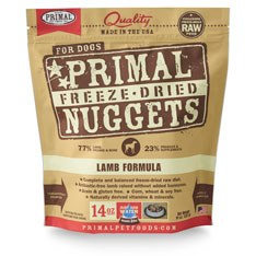 Primal - Lamb Formula - Freeze Dried Dog Food - 14 oz