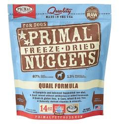 Primal - Quail Formula - Freeze Dried Dog Food - 14 oz