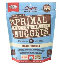 Primal - Quail Formula - Freeze Dried Dog Food - 5.5 oz