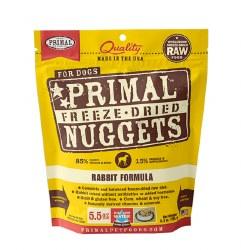 Primal - Rabbit Formula - Freeze Dried Dog Food - 5.5 oz