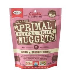 Primal - Turkey and Sardine Formula - Freeze Dried Dog Food - 5.5 oz