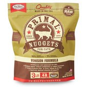 IN STORE AND CURB-SIDE PICK UP ONLY - Primal - Venison Formula - Raw Cat Food - 3 lb