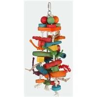 Paradise Bird Toys - Colored Wood Pieces