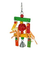 Paradise Bird Toys - Hanging Wooden Chimes