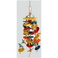 Paradise Bird Toys - Featherland Knotted Discs