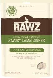 Rawz - Savory Lamb Dinner - Freeze Dried Dog Food - 5oz