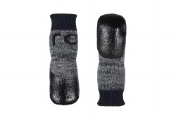 RC Pets - Sport PAWks Dog Socks - Charcoal Heather - Large
