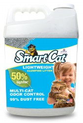 Smart Cat Lightweight Clumping Litter - 10lb