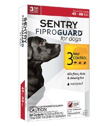 Sentry Fiproguard - 45 to 88 lb Dog - 3 months