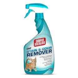 Simple Solution Cat Stain and Odor Remover - 32 oz