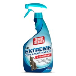 Simple Solution Extreme Cat Stain and Odor Remover - 32 oz