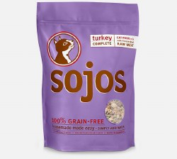 Sojos Complete - Turkey Recipe - Freeze Dried Cat Food - 1 lb