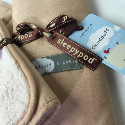 Sleepypod - Cloudpuff Blankie - Champagne - Medium