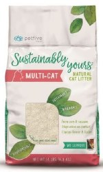 Sustainably Yours - Multi-Cat - Natural Cat Litter - 13 lb