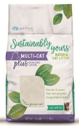 Sustainably Yours - Multi-Cat Plus - Natural Cat Litter - 13 lb