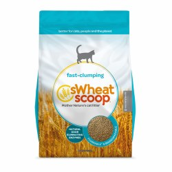 sWheat Scoop - Fast Clumping Cat Litter - 12 lb