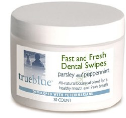 True Blue - Fast and Fresh Dental Swipes - 50 ct