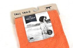 Tall Tails - Absorbent Microfiber Towel - Orange Bone - 27x40""