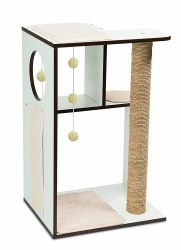 Vesper - Cat Furniture - V-Box - White - Large