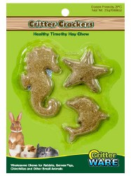 Ware - Small Animal Treats - Critter Crackers - Ocean